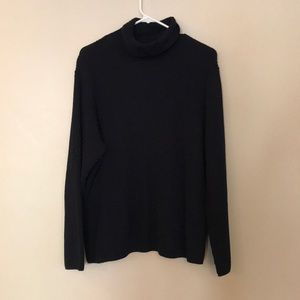 H&M navy turtle neck sweater